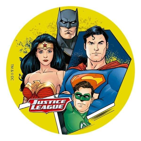 Tortenaufleger Justice League