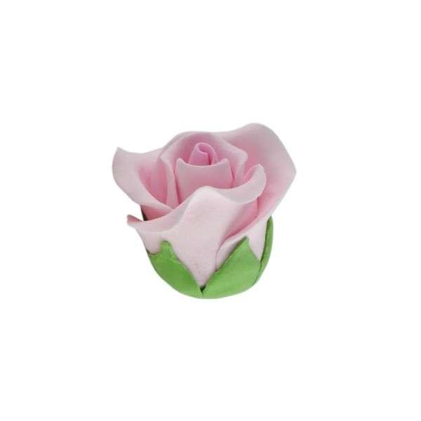 Feinzuckerrosen rosa klein 28mm 12 Stck