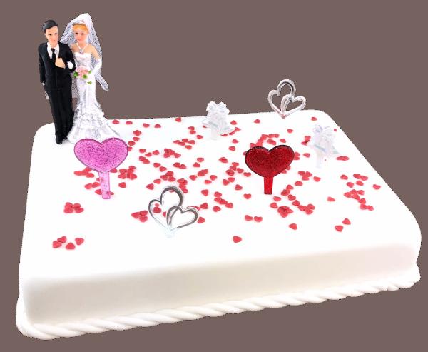 Tortendekoration Hochzeit