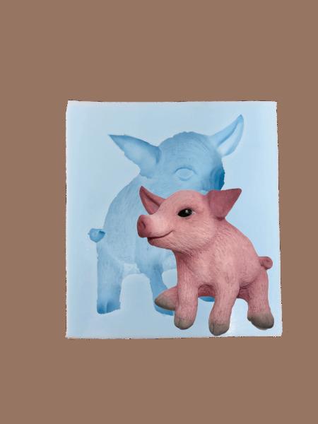 Silikonform Schweinchen