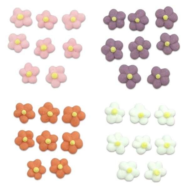 Zuckerdekoration Blumen