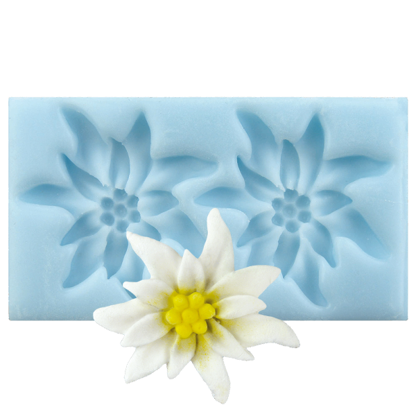 Silikonform Blüten