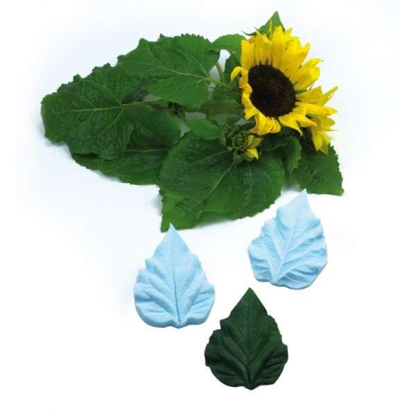 """Veiner """" Sonnenblume """" Blatt L ca.10cm ( Sunflower Leaf L )"""