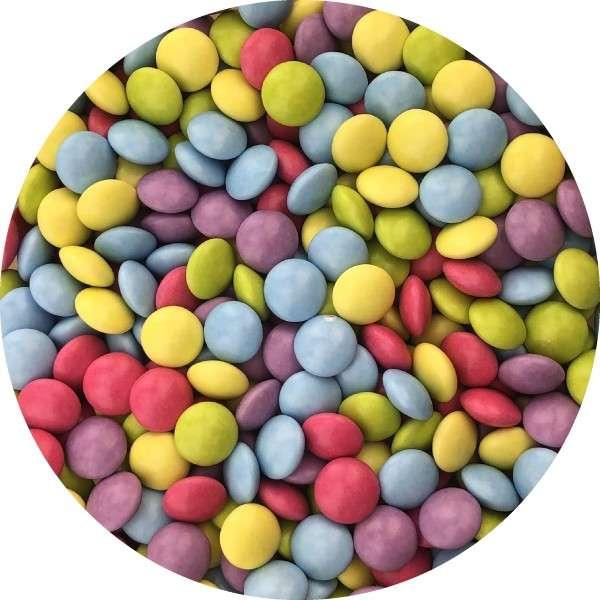 Schokolinsen klein 60g Größe ca. 9,5mm
