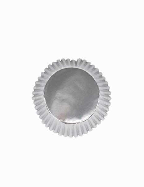 Cupcake Formen Metallic Silber