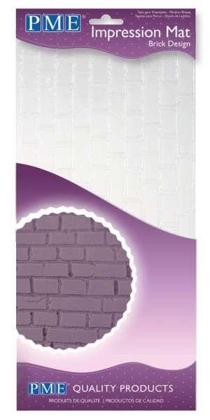 Prägematte Steinmauer