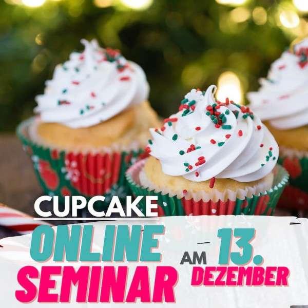Online-Seminar Cupcakes Weihnachten 13.12.2020