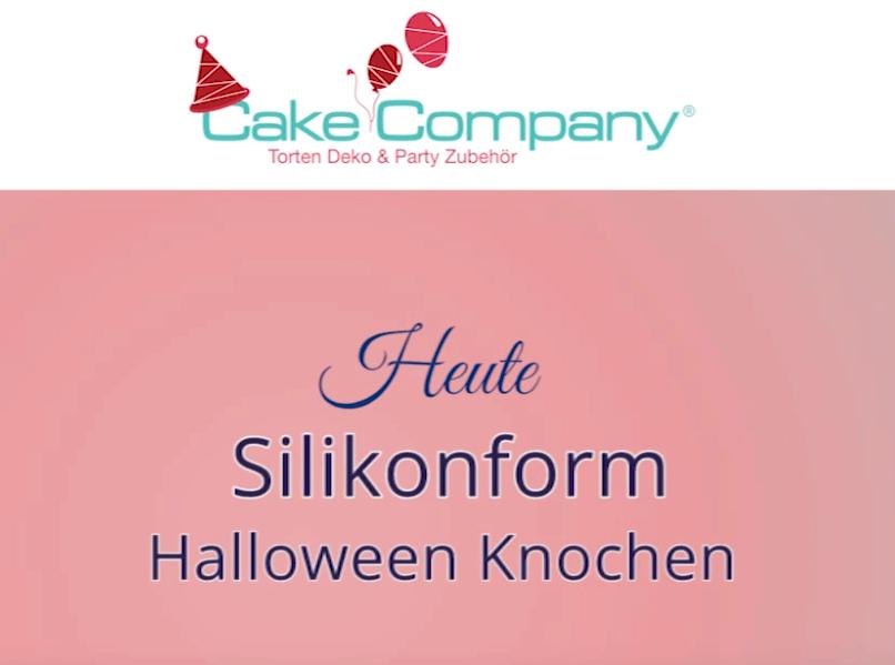 "Silikonform ""Knochen"" ca.11,5 x 8,2 x 1,5cm Knochen 9,5 +4,5cm"
