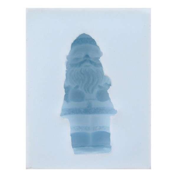 """Silikonform """"Weihnachtsmann 3D"""" ca.8x 6,4x4cm Weihnachtsmann:6,5x2,5x3cm"""