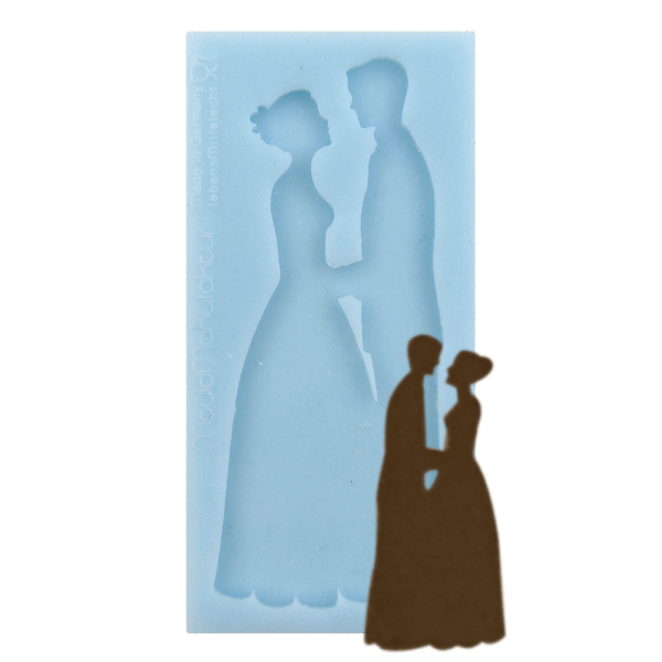 Silikonform Brautpaar