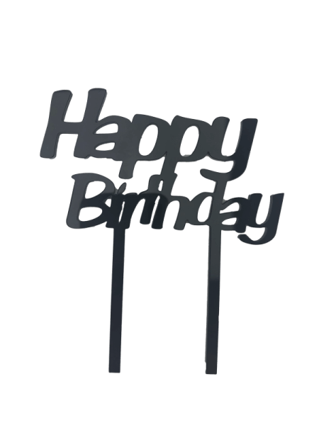 "Cake-Topper ""Happy Birthday"""