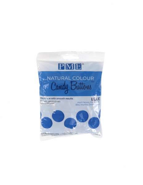 Candy Buttons Blau