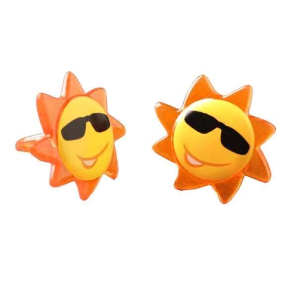 Muffindekoration Sonne