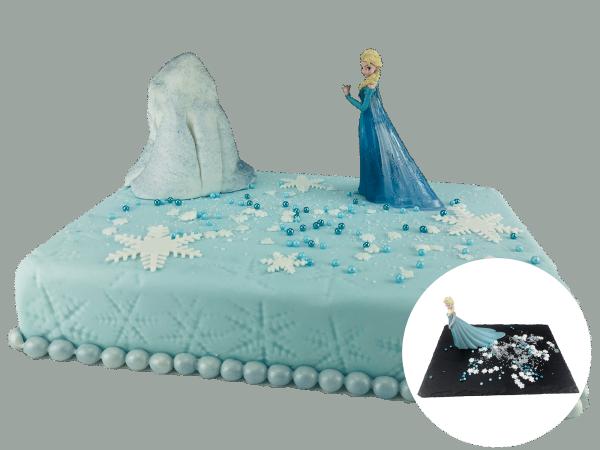 Tortendekoration Elsa