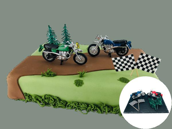 Tortendekoration Motorrad