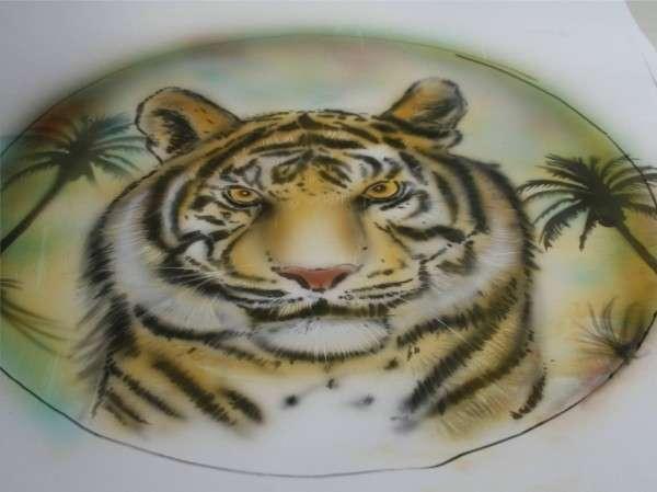 Airbrush Tiger