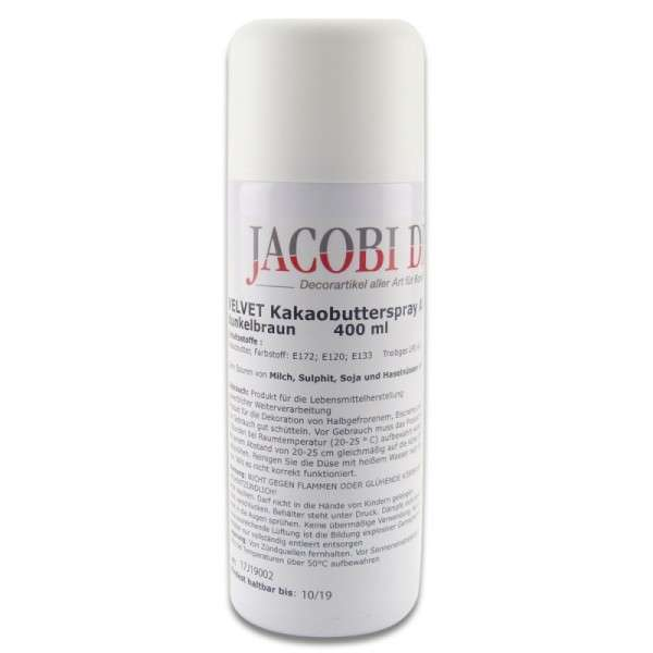 Velvet Spray Braun, azofrei, 400 ml