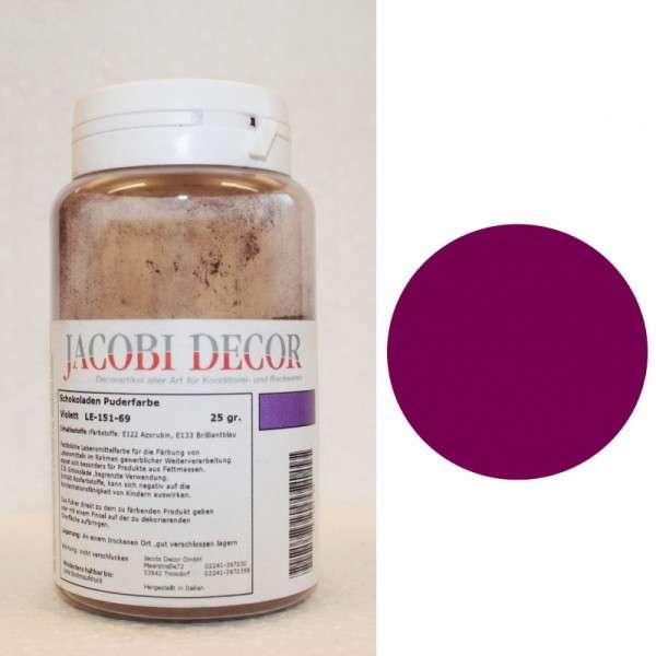 Puderfarbe violett 25g fettlöslich