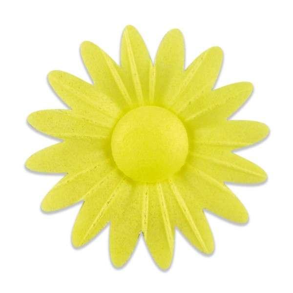 Esspapier Margerite gelb 45mm 12Stck
