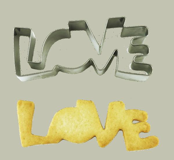 Plätzchen Ausstecher Love