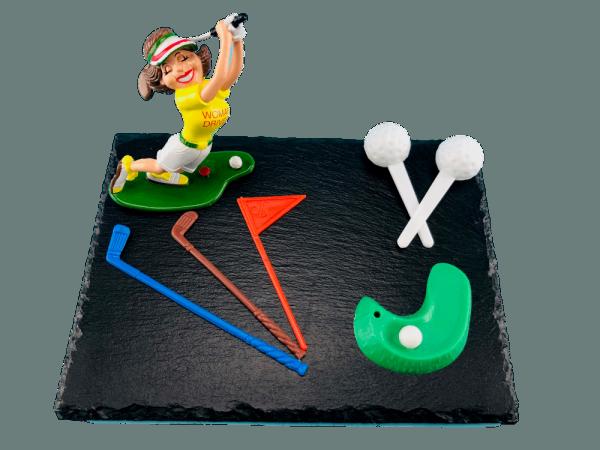 Tortendekoration Golferin