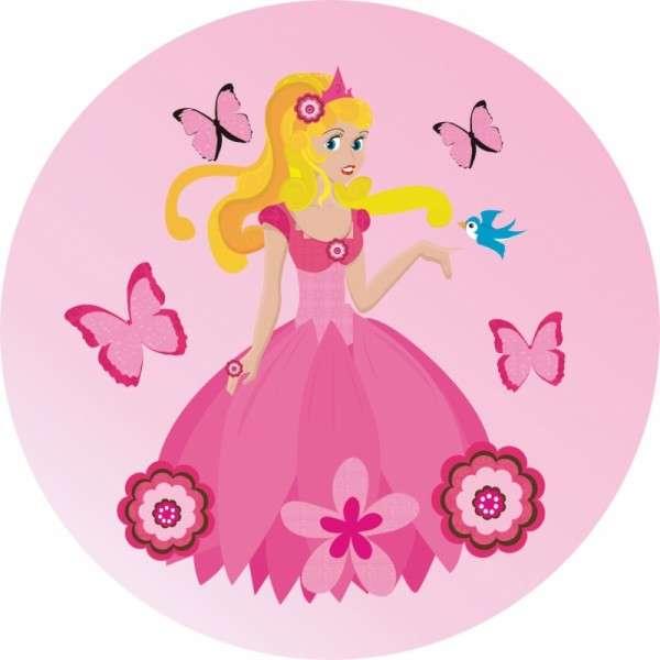 Zuckeraufleger Prinzessin 10cm