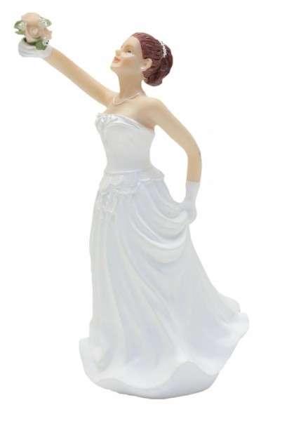 Hochzeitsfiguren Braut rothaarig