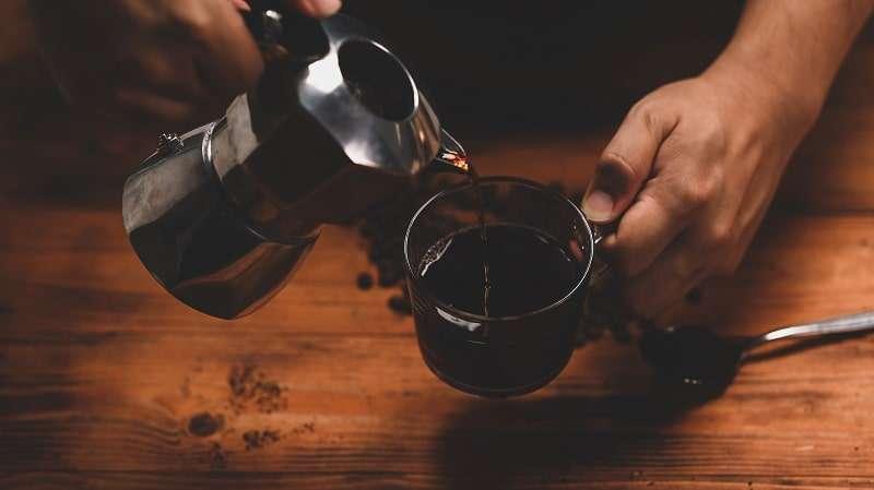 Fondanttaugliche Creme - Ganache mit Kaffee