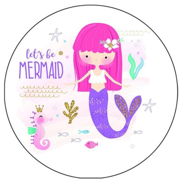 Zuckeraufleger lets be Mermaid 10 cm