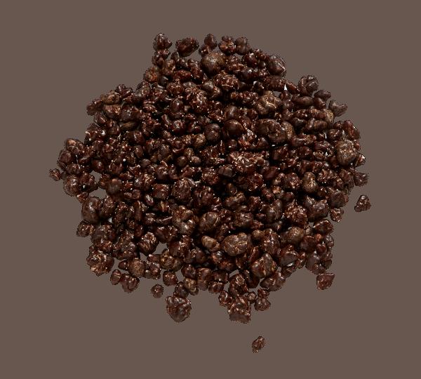 Popping Candy dunkle Schokolade Callebaut MonaLisa 0,65kg Streuer