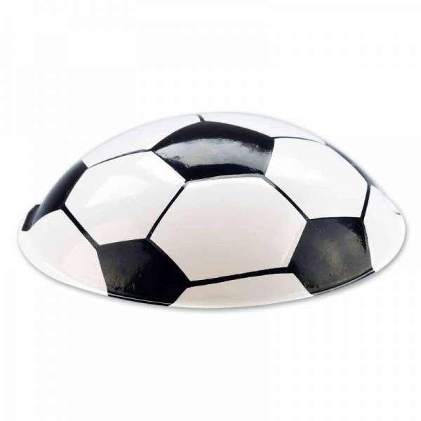 Authentischer Fußballaufleger