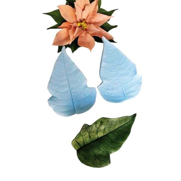 """Veiner """"Weihnachtsstern Blatt"""" ca. 13,5 x 9,5cm ( Sunflower,petal)"""