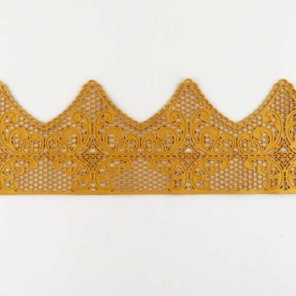 Essbare Spitze Band gold