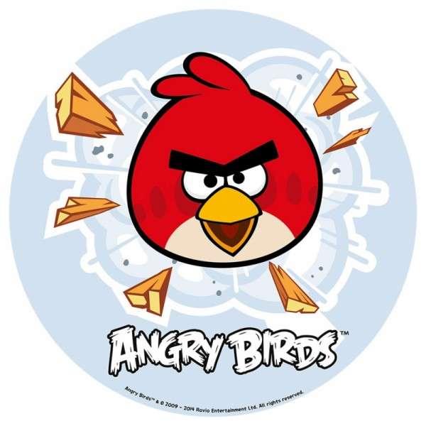 """Esspapieraufleger Angry Birds """"RED im Flug"""" 20cm"""
