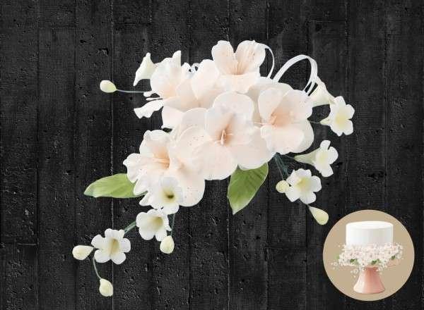 Orchideen Blumenbouquet Produktansicht