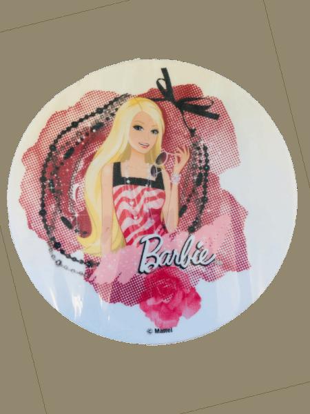 Esspapieraufleger Barbie mit Rosen