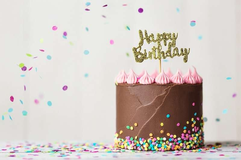 Cake Topper Geburtstag