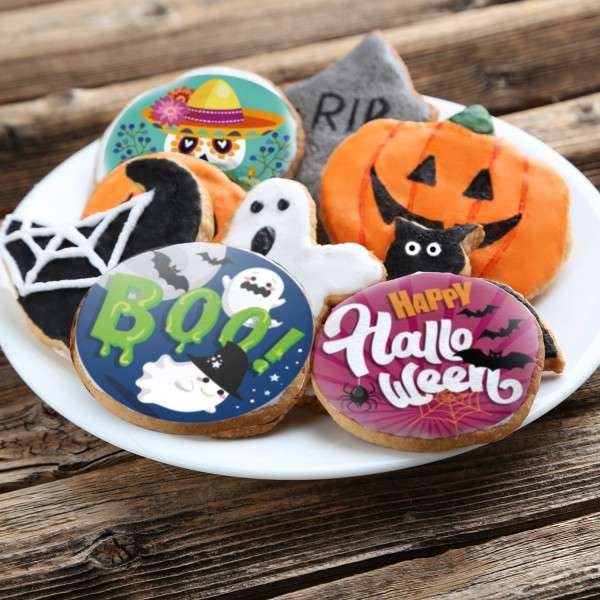 Tortenaufleger Halloween
