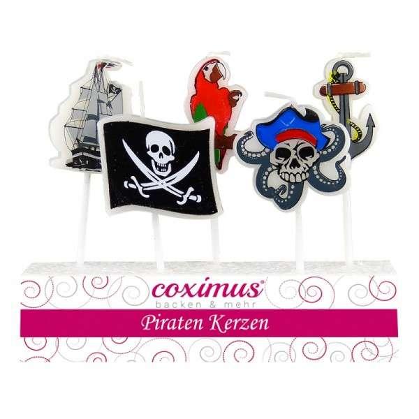 Motivtorten Dekoration Piraten Kerze Tortndekoration