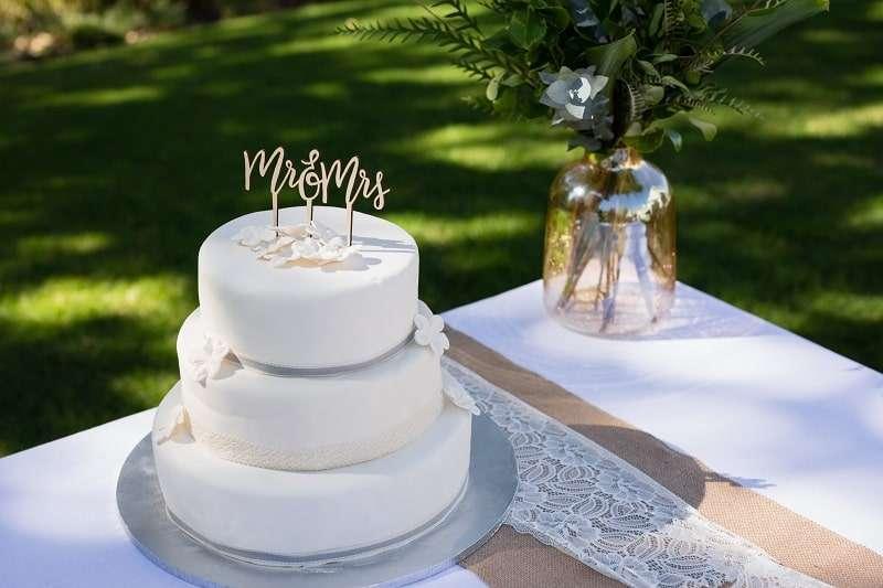Hochzeit Cake Toppers