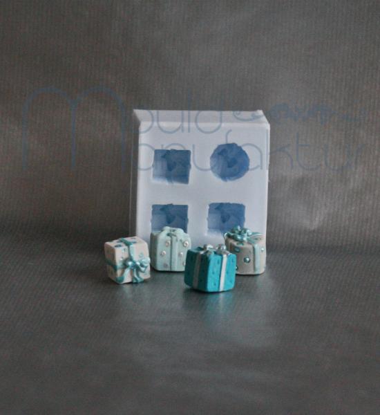 Silikonform Geschenk