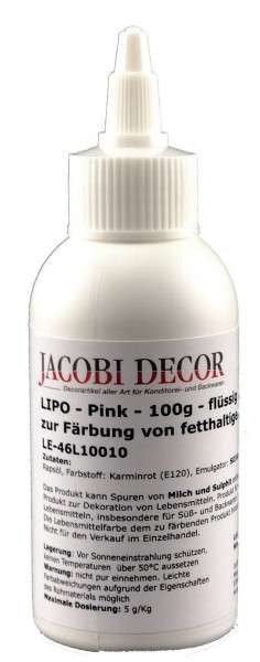 Lipo Pink zur Färbung von Fetthaltigen Lebensmitteln