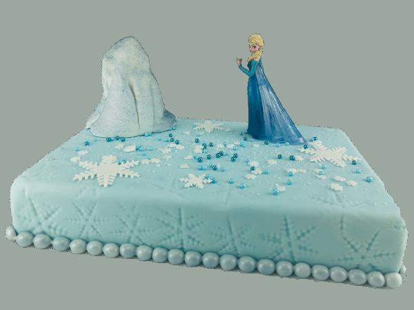 Tortendekoration Eiskönigin Elsa