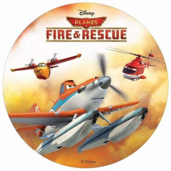 """Planes 2 """"Dusty, Blade Ranger und Dipper"""" Esspapieraufleger 20cm"""