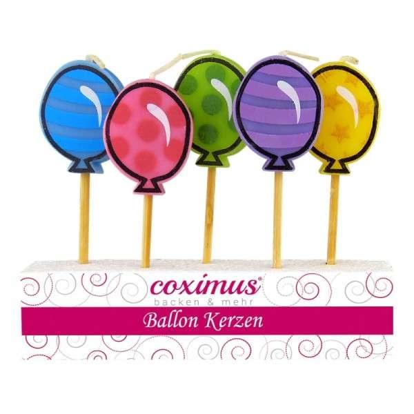 Tortendekoration Kerzen Luftballon Motivtorten Dekoration