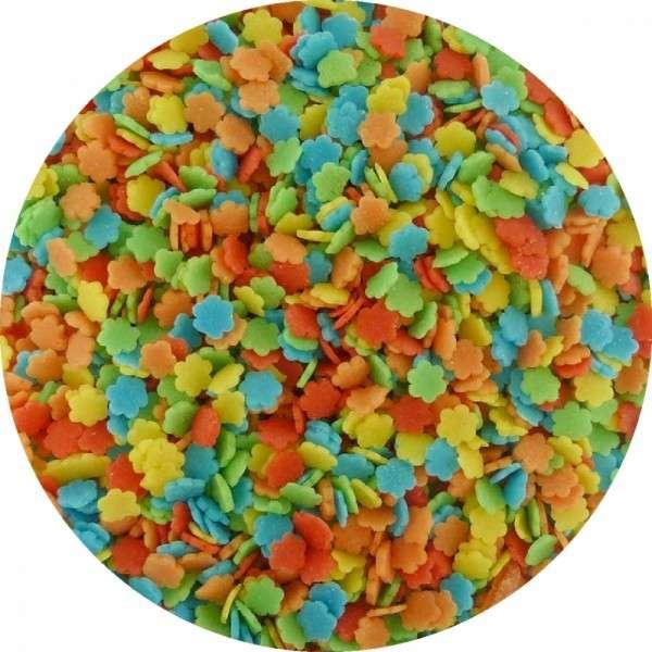 Zuckerkonfetti Blümchen bunt 90g