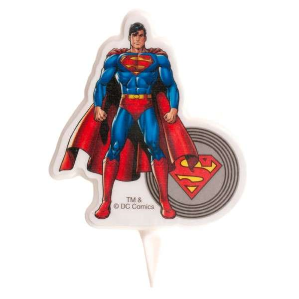 Superman Kerze 8,5cm
