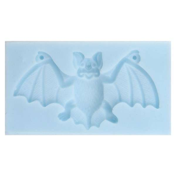 "Silikonform ""Fledermaus"" ca.11 x 6,1 x 1,5cm Fledermaus ca.9,5cm"