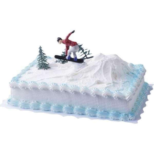 Tortendeko Snow Boarder