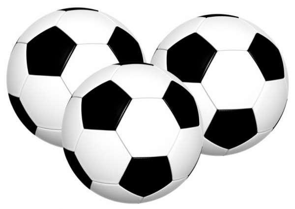 Tortendekoration Fußball Esspapier